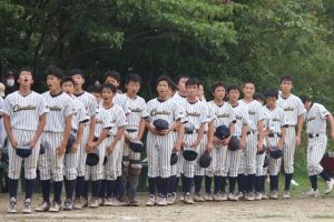 東京都少年新人軟式野球大会、一回戦勝ちました!!